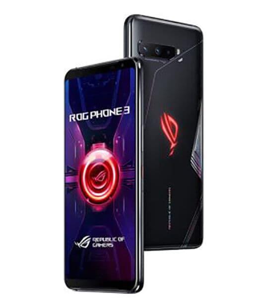 【中古】【安心保証】 SIMフリー ROGPhone3[512G 12G] ブラック