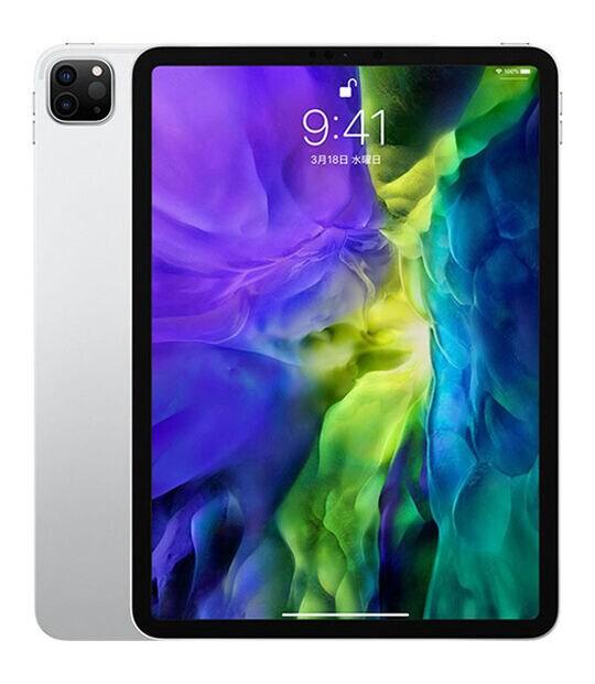 【中古】【安心保証】 iPadPro 11インチ 第2世代[512GB] Wi-Fiモデル シルバー