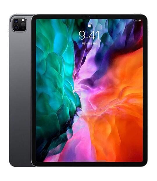 【中古】【安心保証】 iPadPro 12.9インチ 第4世代[256GB] セルラー SoftBank スペースグレイ