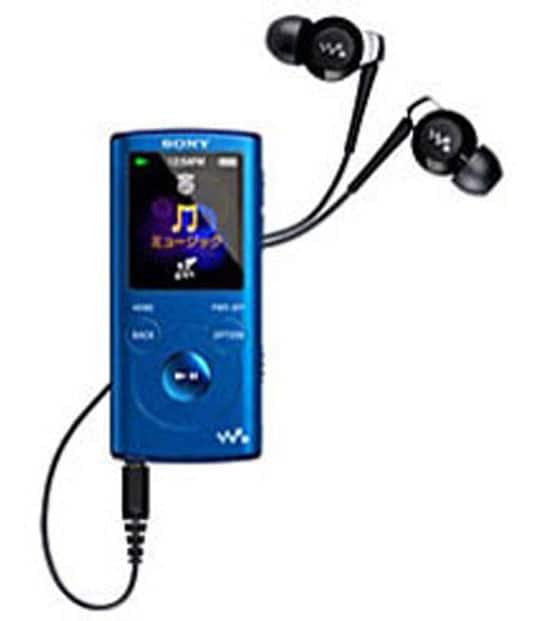 【中古】【安心保証】 E050シリーズ[2GB](ブルー)NW-E052
