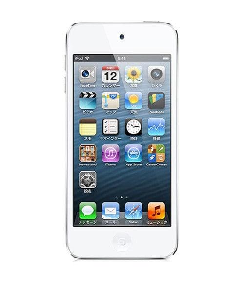 【中古】【安心保証】 iPodtouch5[32GB](ホワイトシルバ) ND720J