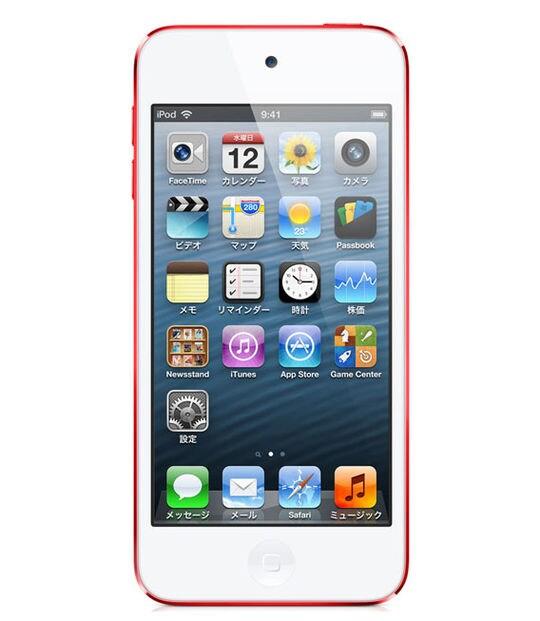 【中古】【安心保証】 iPodtouch5[32GB](レッド)MD749J