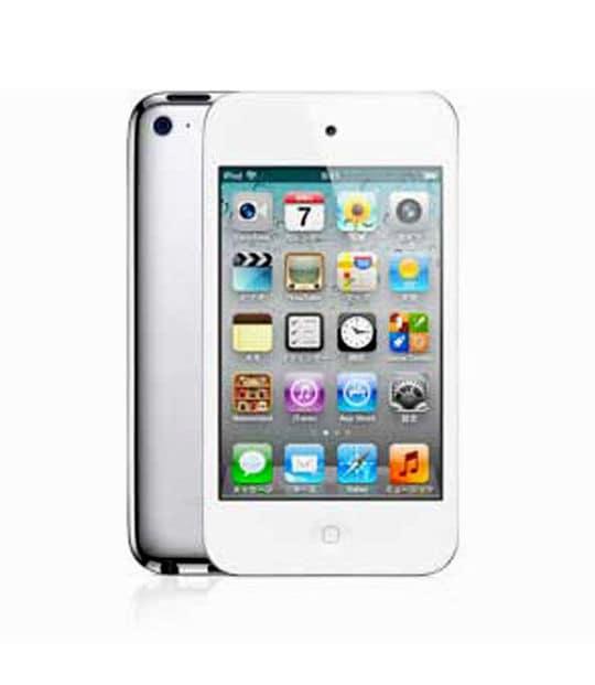 【中古】【安心保証】 iPodtouch4[32GB](ホワイト)MD058J