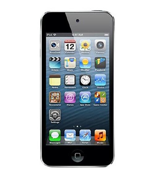【中古】【安心保証】 iPodtouch5[16GB](クロギン) NE643J