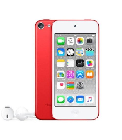 【中古】【安心保証】 iPodtouch6[16GB](レッド)NKH82J