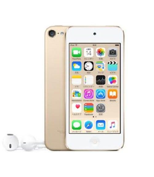 【中古】【安心保証】 iPodtouch6[32GB](ゴールド)MKHT2J