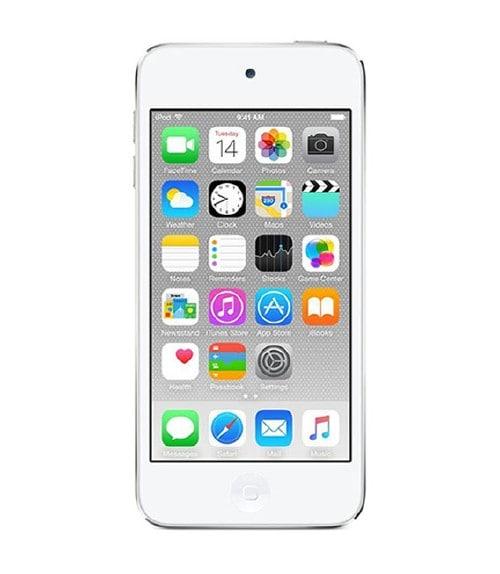 【中古】【安心保証】 iPodtouch6[64GB](シルバー)MKHJ2J