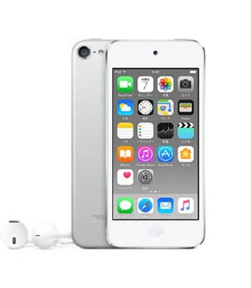 【中古】【安心保証】 iPodtouch6[128GB](シルバー)MKWR2J
