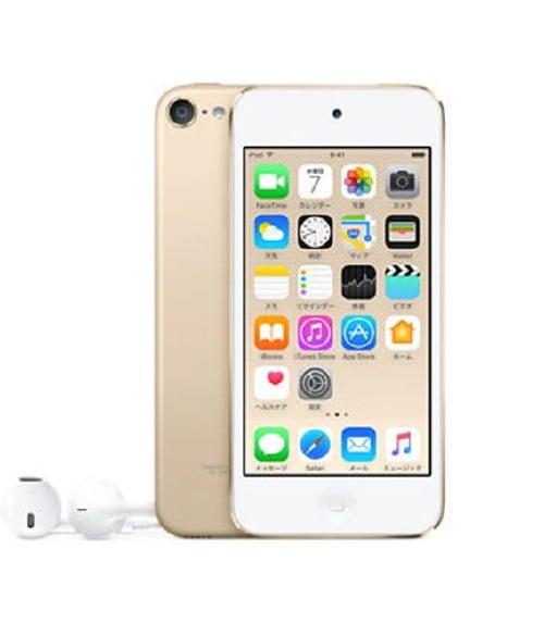 【中古】【安心保証】 iPodtouch6[128GB](ゴールド)MKWM2J
