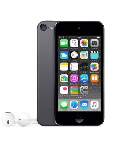 【中古】【安心保証】 iPodtouch6[128GB](スペースグレイ)PKWU2J