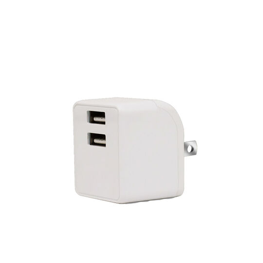 【新品】【GR】2ポートAC充電器 2.4A 2ACC01−24 WH/ゲオ
