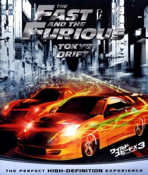 【中古】3.ワイルド・スピードX TOKYO DRIFT 【ブルーレイ】/ルーカス・ブラック