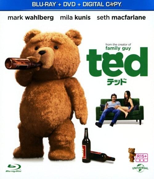 【中古】テッド 【ブルーレイ】/マーク・ウォールバーグ