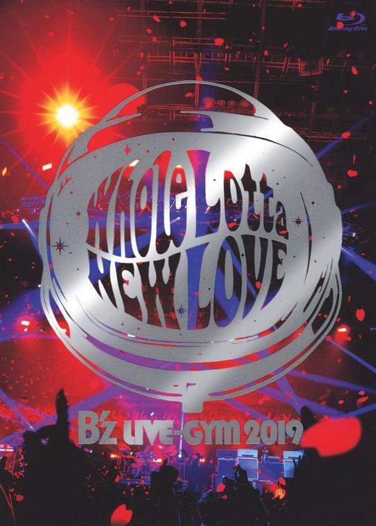【中古】B'z LIVE-GYM 2019-Whole Lotta NEW LOVE- 【ブルーレイ】/B'z