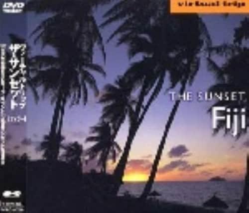 【中古】virtual trip THE SUNSET Fiji 【DVD】