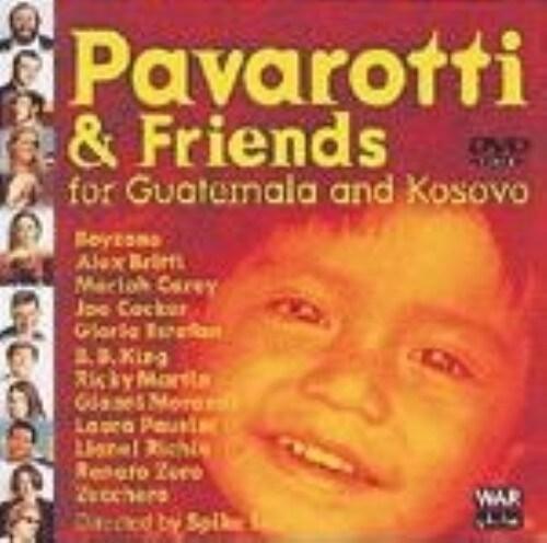 【中古】パヴァロッティ&フレンズ1999 グアテマラとコソボの子供… 【DVD】
