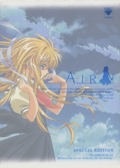 【中古】初限)AIR SP・ED 劇場版 【DVD】/川上とも子