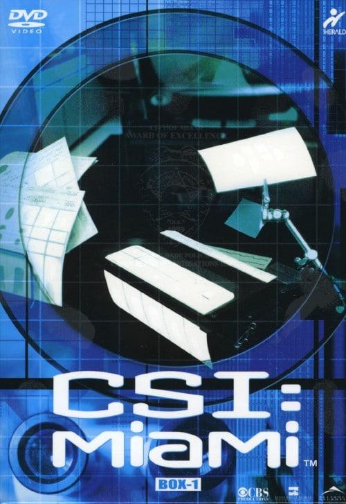 【中古】1.CSI: マイアミ 1st コンプリートBOX 【DVD】/デヴィッド・カルーソ