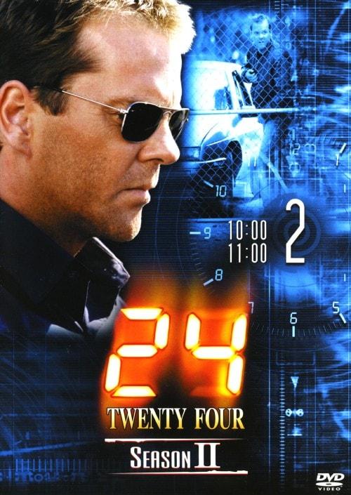 【中古】2.24 TWENTY FOUR 2nd 【DVD】/キーファー・サザーランド
