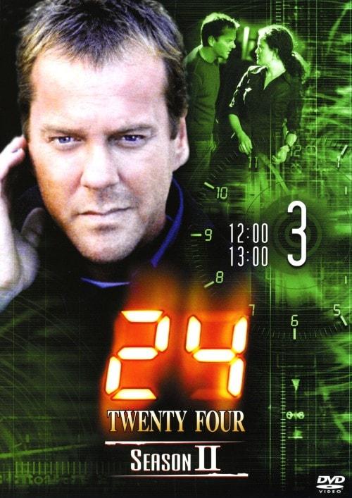 【中古】3.24 TWENTY FOUR 2nd 【DVD】/キーファー・サザーランド