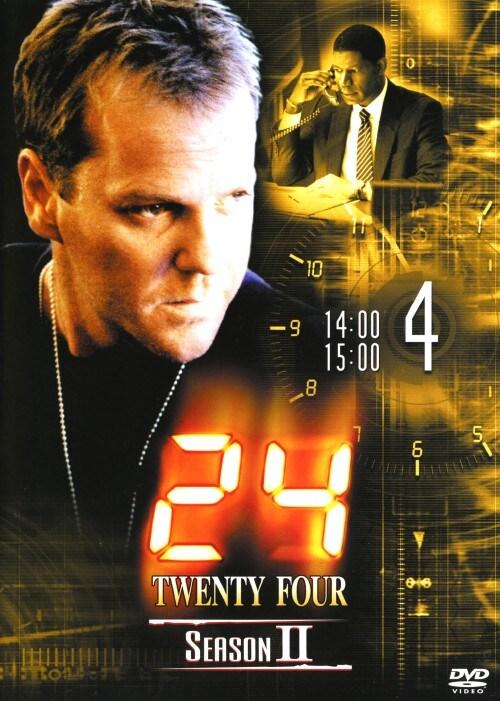 【中古】4.24 TWENTY FOUR 2nd 【DVD】/キーファー・サザーランド