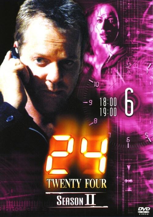 【中古】6.24 TWENTY FOUR 2nd 【DVD】/キーファー・サザーランド