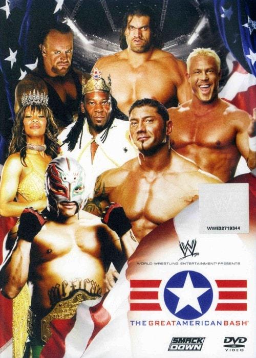 【中古】WWE グレート・アメリカン・バッシュ2006 【DVD】/レイ・ミステリオ