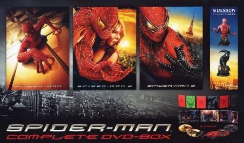 【中古】初限)スパイダーマン コンプリートBOX 【DVD】/トビー・マグワイア
