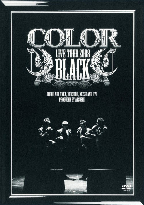 【中古】COLOR LIVE TOUR 2008 BLACK 【DVD】/COLOR