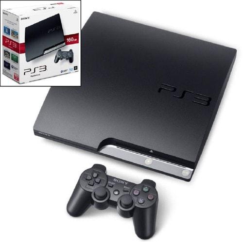 【中古・箱説なし・付属品なし・傷あり】PlayStation3 HDD 160GB CECH−2500A チャコール・ブラック