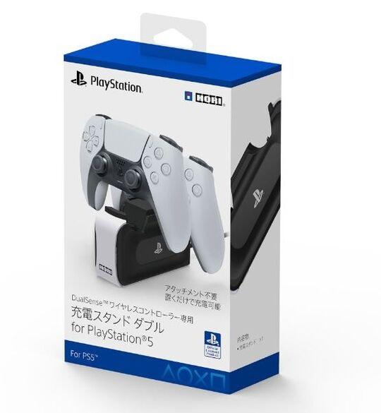 【新品】DualSenseワイヤレスコントローラー専用 充電スタンドダブル for PlayStation5