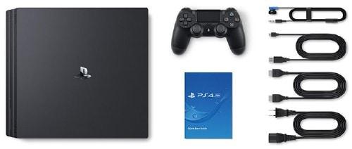 【中古・箱説あり・付属品あり・傷なし】PlayStation4 Pro CUH−7000BB01 ジェット・ブラック 1TB