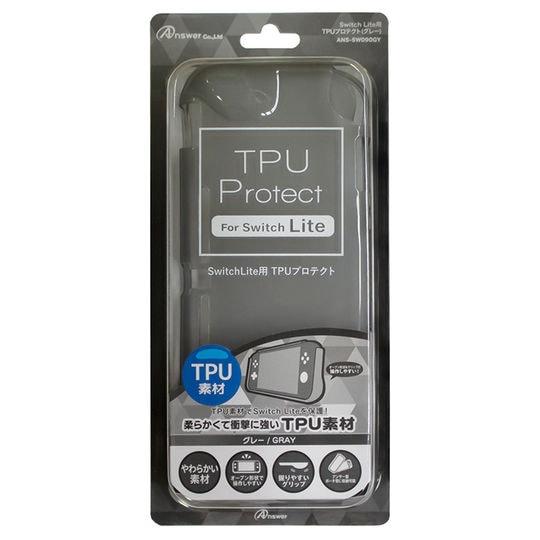 【新品】Switch Lite用 TPUプロテクト(グレー)
