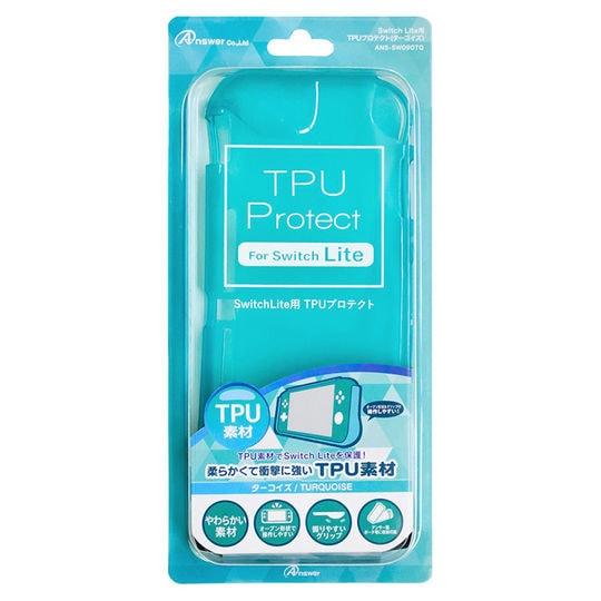 【新品】Switch Lite用 TPUプロテクト(ターコイズ)