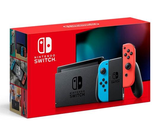 【新品】Nintendo Switch Joy−Con(L) ネオンブルー/(R) ネオンレッド 新モデル