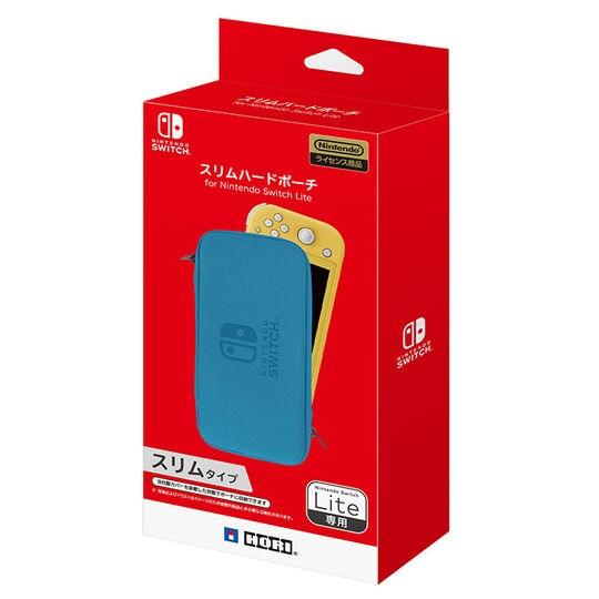 【新品】スリムハードポーチ for Nintendo Switch Lite ブルー
