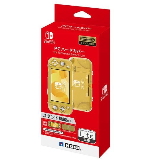 【新品】PCハードカバー for Nintendo Switch Lite クリア
