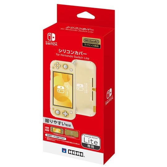 【新品】シリコンカバー for Nintendo Switch Lite クリアホワイト