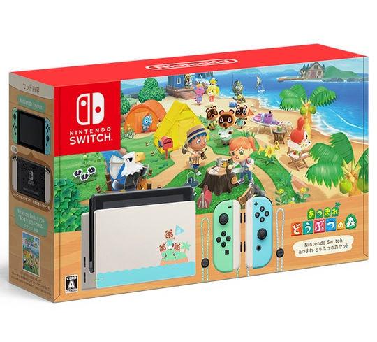 【中古・箱説あり・付属品あり・傷なし】Nintendo Switch あつまれ どうぶつの森セット