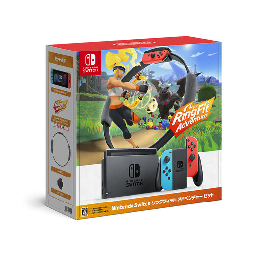 【中古・箱説あり・付属品あり・傷なし】Nintendo Switch リングフィット アドベンチャー セット