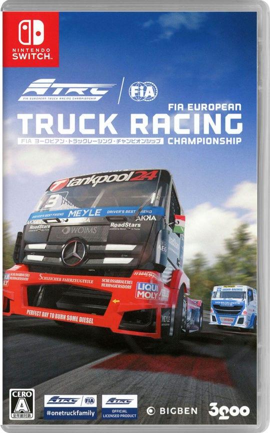 【中古】FIA ヨーロピアン・トラックレーシング・チャンピオンシップ