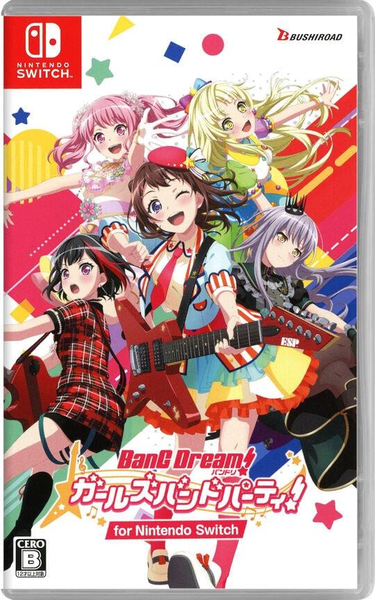 【新品】バンドリ! ガールズバンドパーティ! for Nintendo Switch