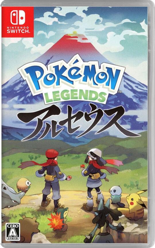 【新品】Pokemon LEGENDS アルセウス