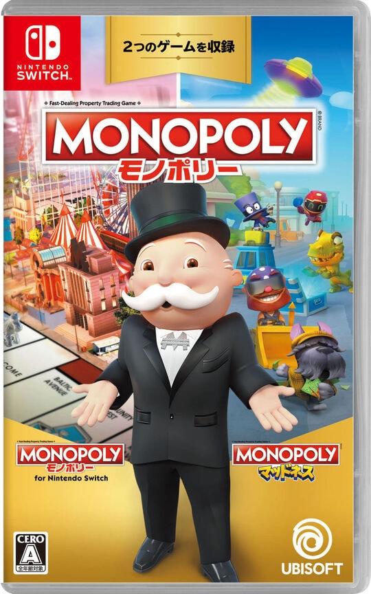 【新品】モノポリー for Nintendo Switch + モノポリー マッドネス