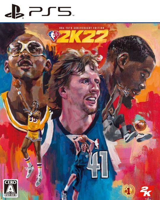 【新品】『NBA 2K22』NBA 75周年記念エディション (限定版)
