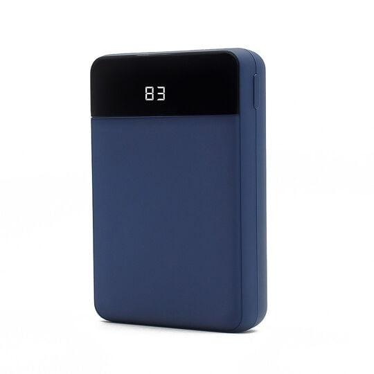 【新品】グリーンハウス コンパクトモバイルバッテリー10000mAhブルー/グリーンハウス