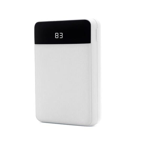 【新品】グリーンハウス コンパクトモバイルバッテリー10000mAhホワイト/グリーンハウス