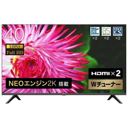 【新品】ハイセンス 40V型 2K液晶テレビ 40A35G/ハイセンス