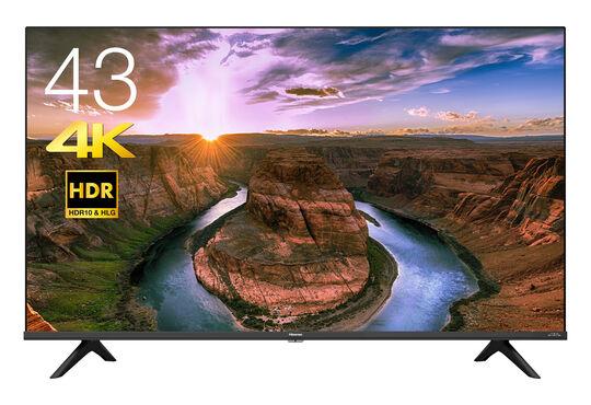 【新品】ハイセンス 4Kチューナー内蔵43V型液晶テレビ 43E65G/ハイセンス
