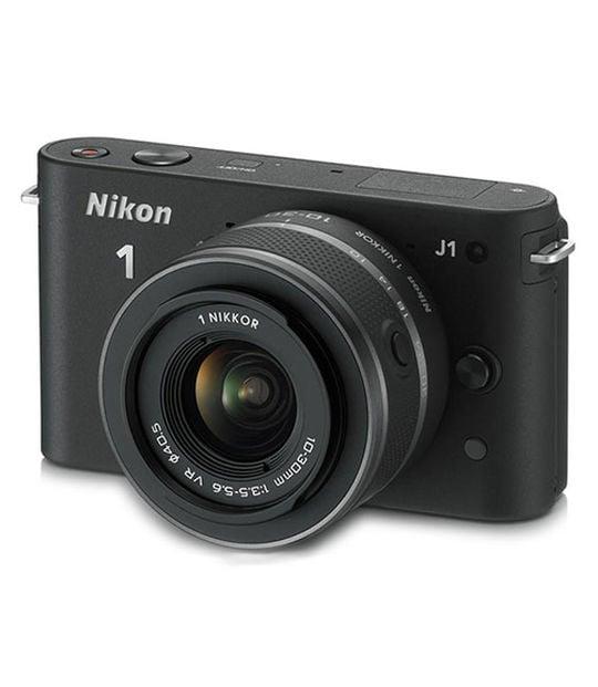 【中古】【安心保証】 ミラーレス>Nikon 1 J1[ブラック]
